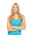 Gabby Reece, Volleyball and Fitness Icon, Services Deal with KOWA's NutriDiet(R) in Association with InterMedia Entertainment(TM).  (PRNewsFoto/InterMedia Entertainment)