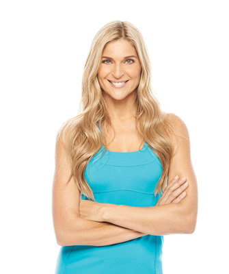 Gabby Reece, Volleyball and Fitness Icon, Services Deal with KOWA's NutriDiet(R) in Association with InterMedia Entertainment(TM). (PRNewsFoto/InterMedia Entertainment) (PRNewsFoto/INTERMEDIA ENTERTAINMENT)
