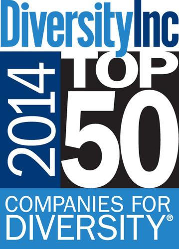 DiversityInc Top 50 Companies for Diversity for 2014 (PRNewsFoto/DiversityInc)