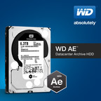 WD(R) INTRODUCES COLD-DATA-STORAGE HDDS OPTIMIZED FOR THE MODERN DATACENTER (PRNewsFoto/WD)