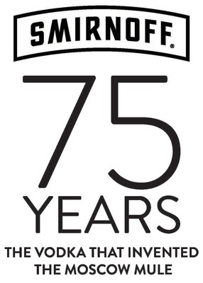 SMIRNOFF Logo for 75th Anniversary of the Moscow Mule