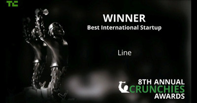 LINE Winner Best International Startup