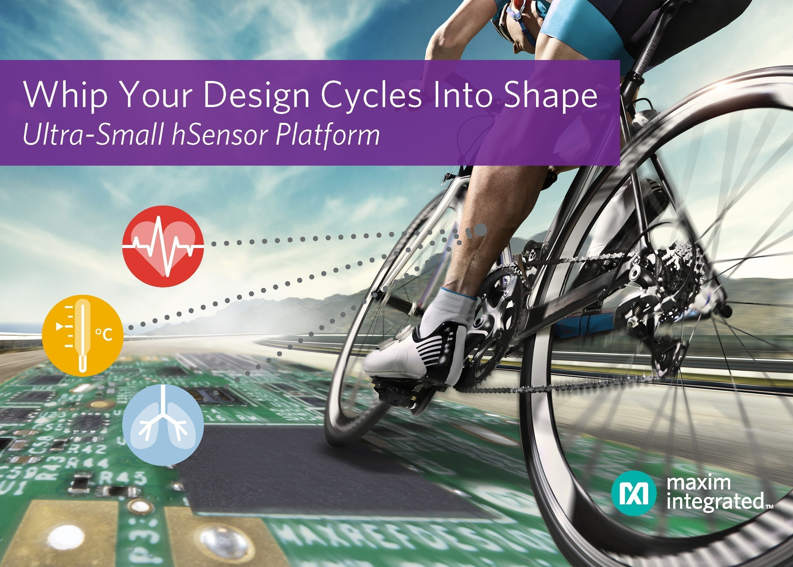 Maxim's Ultra-Small hSensor Platform Enables Quick and Easy Design for Wearable Health and Fitness Applications