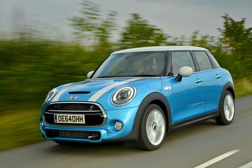 On the road to success: the new MINI 5-door (PRNewsFoto/BMW GROUP)