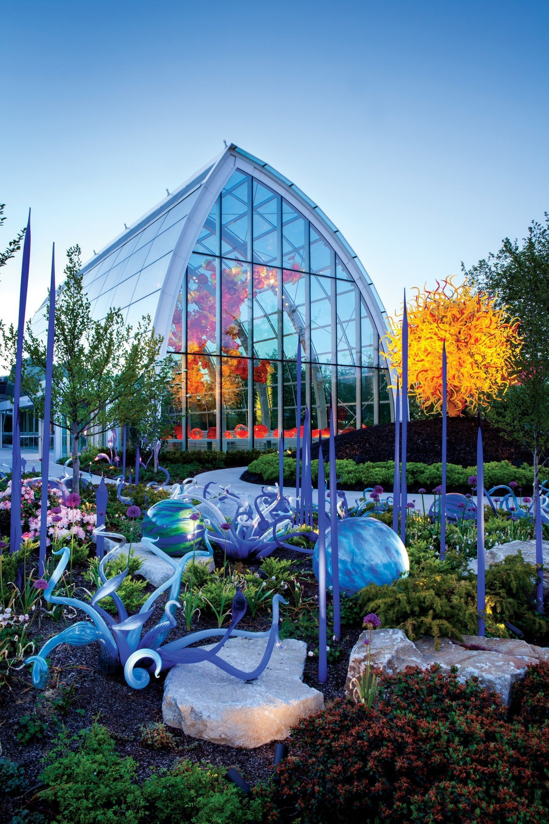 Seattle Museum Month, February 1-29, 2016, includes several of the region's most noteworthy 2016 exhibitions. Chihuly Garden and Glass in Seattle is among the participating museums. Photo Credit: Terry Rishel