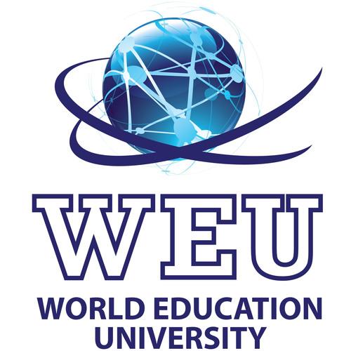 World Education University logo. (PRNewsFoto/World Education University) (PRNewsFoto/WORLD EDUCATION UNIVERSITY)