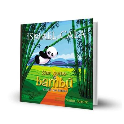 Ismael Cala presenta «Ser como el bambu», su primer libro para ninos, ilustrado y bilingue