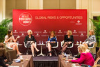 Photo credit: Stuart Isett/Fortune Most Powerful Women (From left to right: Efrat Peled, Isabelle Welton, Nina Easton, Susan Schwab, Mary Callahan Erdoes)