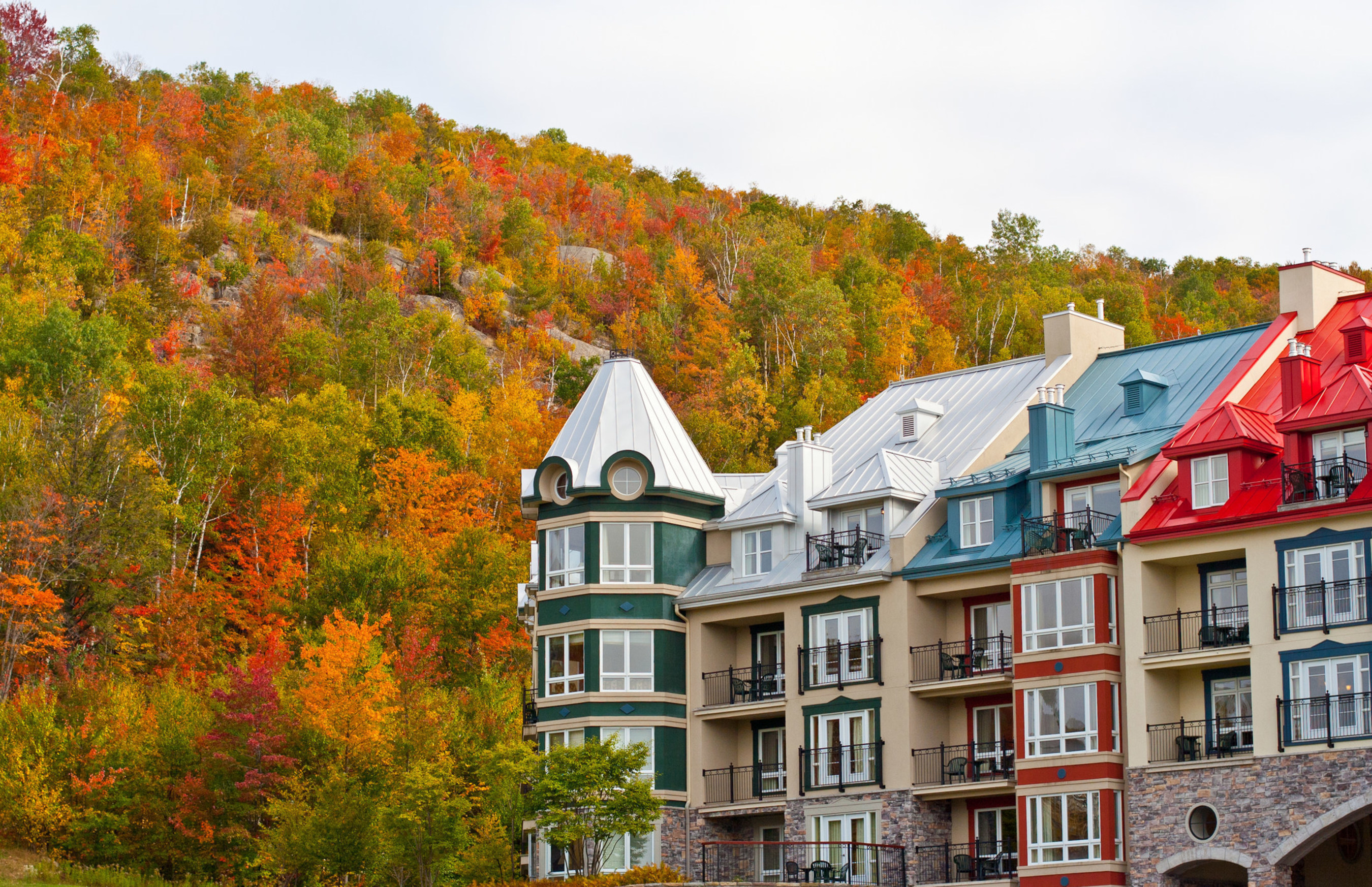 Mont Tremblant in Quebec, Canada