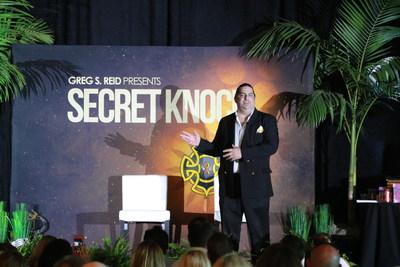 Walter O'Brien keynotes Secret Knock 2016