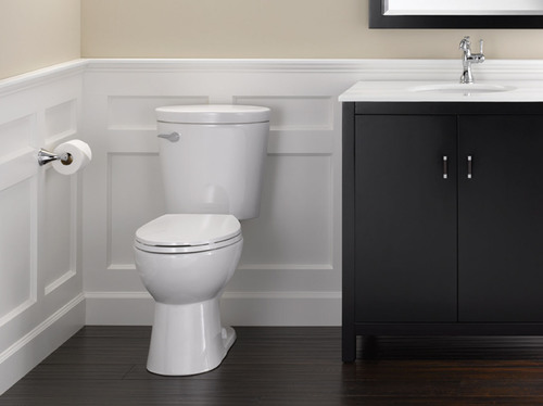 Delta Faucet Corrente Toilet with SmartFit Technology, only at The Home Depot.  (PRNewsFoto/Delta Faucet ...