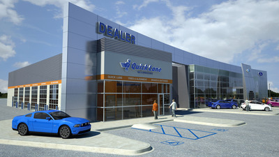 Ford motor company opens 600th quick lane store expanding for Ford motor company service department