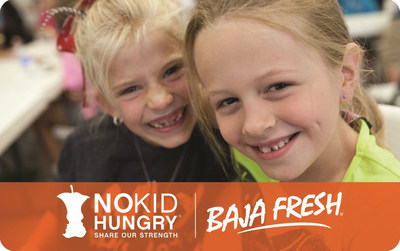Baja Fresh Partners with Givex to Fight Childhood Hunger (CNW Group/Givex) (PRNewsFoto/Givex)