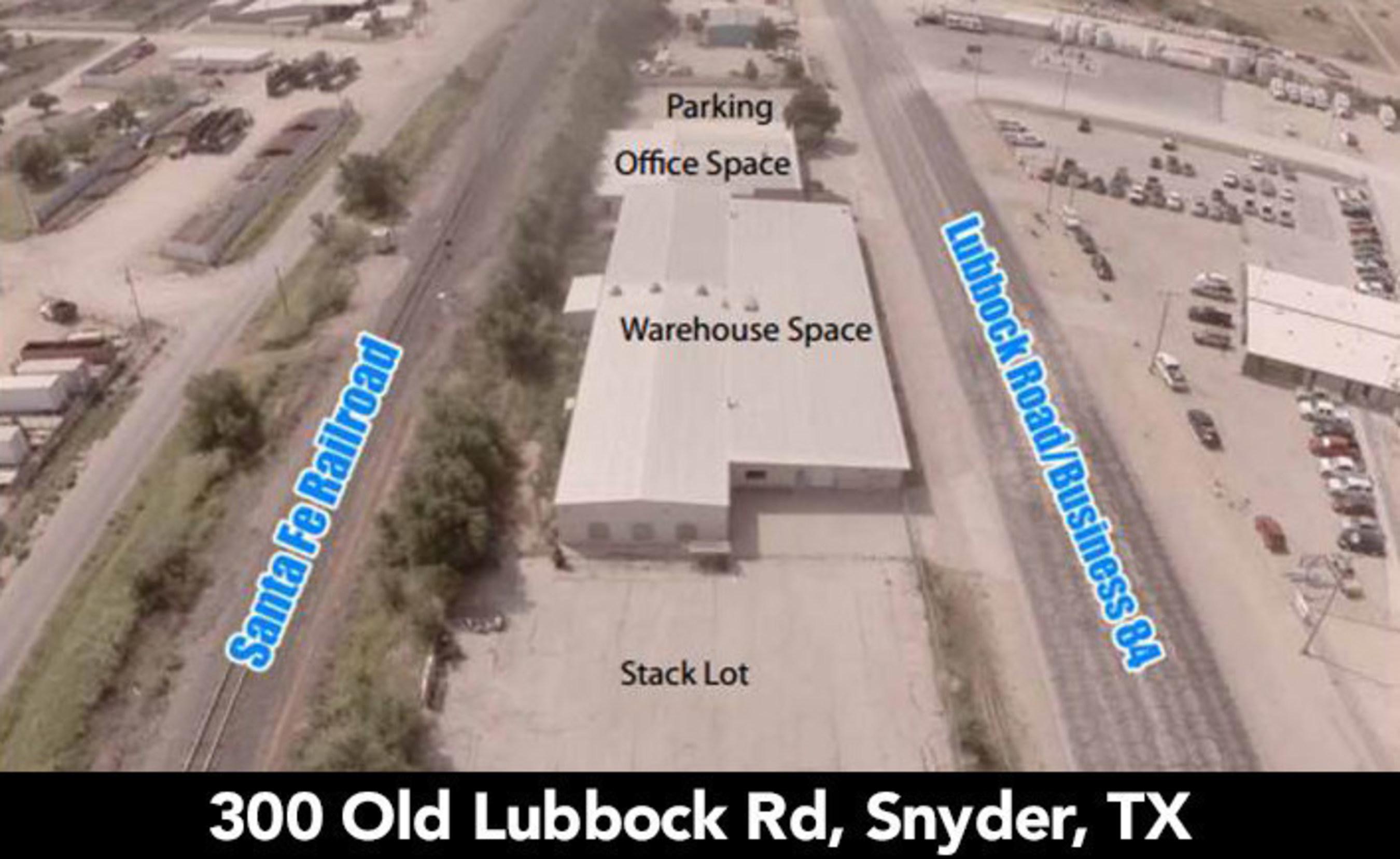 Snyder, TX Industrial Complex Auction