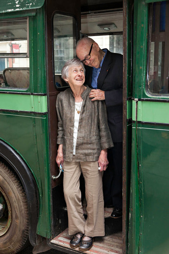 Norrie and Bill Short of Western Springs, IL return to Ireland to celebrate their Golden Wedding Anniversary where they first met on a CIE Tours International vacation. (PRNewsFoto/CIE Tours International)