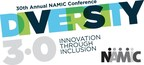 Official logo of the 30th Annual NAMIC Conference. Held as part of the television industry's Diversity Week, the 30th Annual NAMIC Conference is scheduled for September 20-21, 2016 at the New York Marriott Marquis.