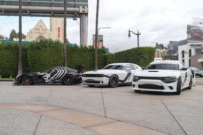 "Star Wars fans can get their pictures taken with First Order Stormtrooper-themed white Dodge Charger SRT Hellcat and Challenger SRT Hellcat vehicles, as well as a Kylo Ren-inspired wrapped black Dodge Viper ACR, as Dodge takes to the streets of Los Angeles this weekend to celebrate the upcoming release of ""Star Wars: The Force Awakens."""