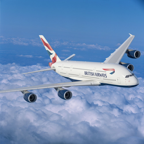 British Airways Debuts Its First A380 Aircraft on the Red Carpet Route Between Los Angeles and