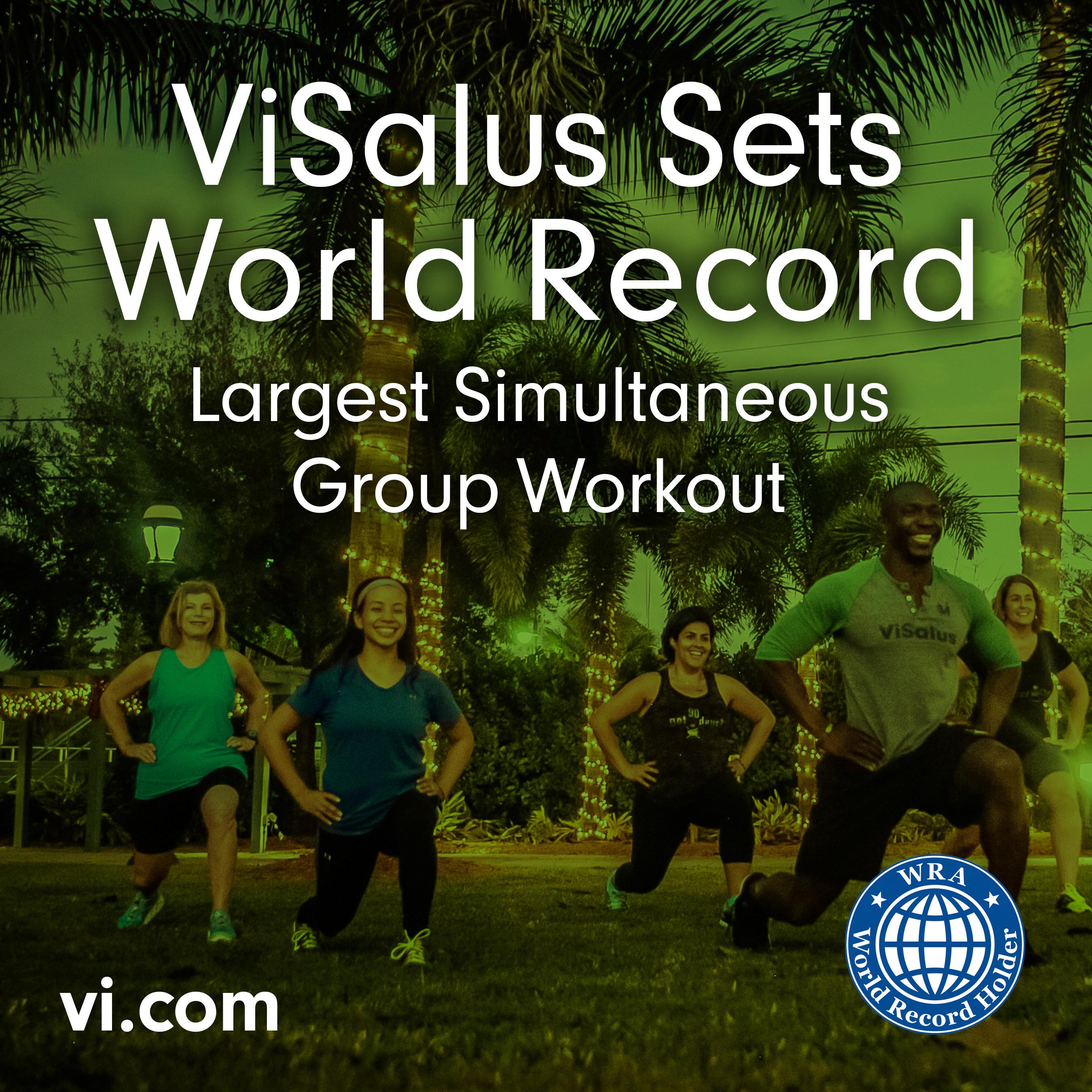 ViSalus Sets World Record