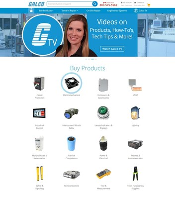 Industrial Electronics Distributor Galco Industrial Electronics Releases New Website