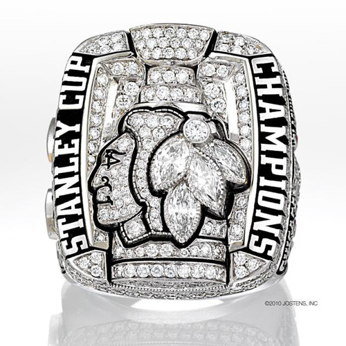 Jostens Designs Chicago Blackhawks 2010 Stanley Cup Ring
