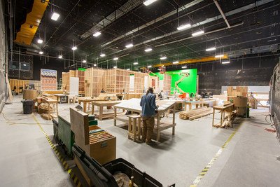 Variety Magazine also praised SFUAD for its expansive production facilities, including soundstages at the university's notable Garson Studios, which is co-located within the SFUAD Film School, and has hosted the production of more than 30 professional feature films over the past 20 years.