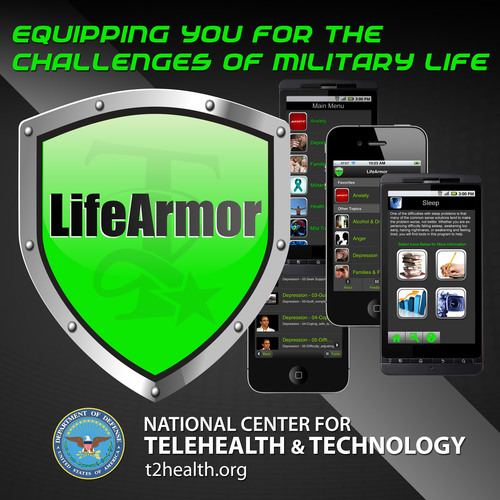 Life Armor.  (PRNewsFoto/National Center for Telehealth and Technology)