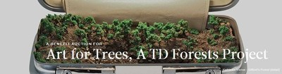 "Inspired by the vision of a greener New York City, a group of ten artists have come together to donate their art for trees. All proceeds from ""Art for Trees"" will be equally distributed amongst New York Restoration Project, Friends of the High Line, Brooklyn Botanic Garden and Trees New York."