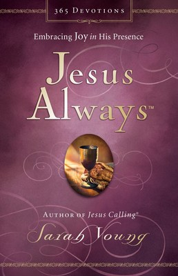 Jesus Always by Sarah Young will release in Oct. 2016