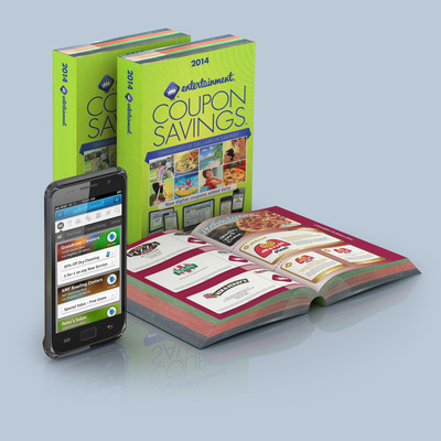 An Entertainment Book Membership offers consumers three ways to save including the iconic coupon book, a mobile app and online at www.entertainment.com making it the perfect holiday shopping companion or gift.  (PRNewsFoto/Entertainment(R))