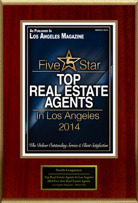 The Longmeyer Team Selected For ''Top Real Estate Agents In Los Angeles''