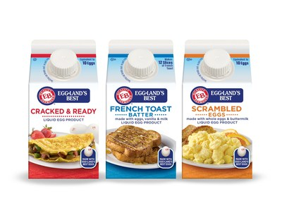 Eggland's Best Lends a Mixing Hand with Launch of New Liquid Egg Varieties