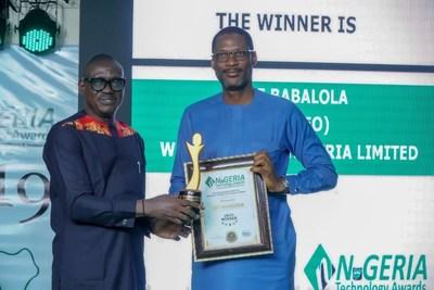 مؤسسة ويب فونتاين تربح ثلاث جوائز مرموقة بجوائز نيجيريا التقنية لعام 2019