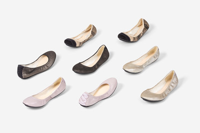 Cole Haan Avery Ballet Studio Collection (PRNewsFoto/Cole Haan)