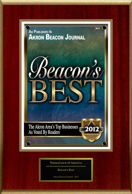 "NaturaLawn of America Selected For ""Beacon's Best.""  (PRNewsFoto/NaturaLawn of America)"