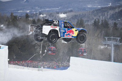 Red Bull Frozen Rush, the only off-road truck race on snow, returns in 2015.