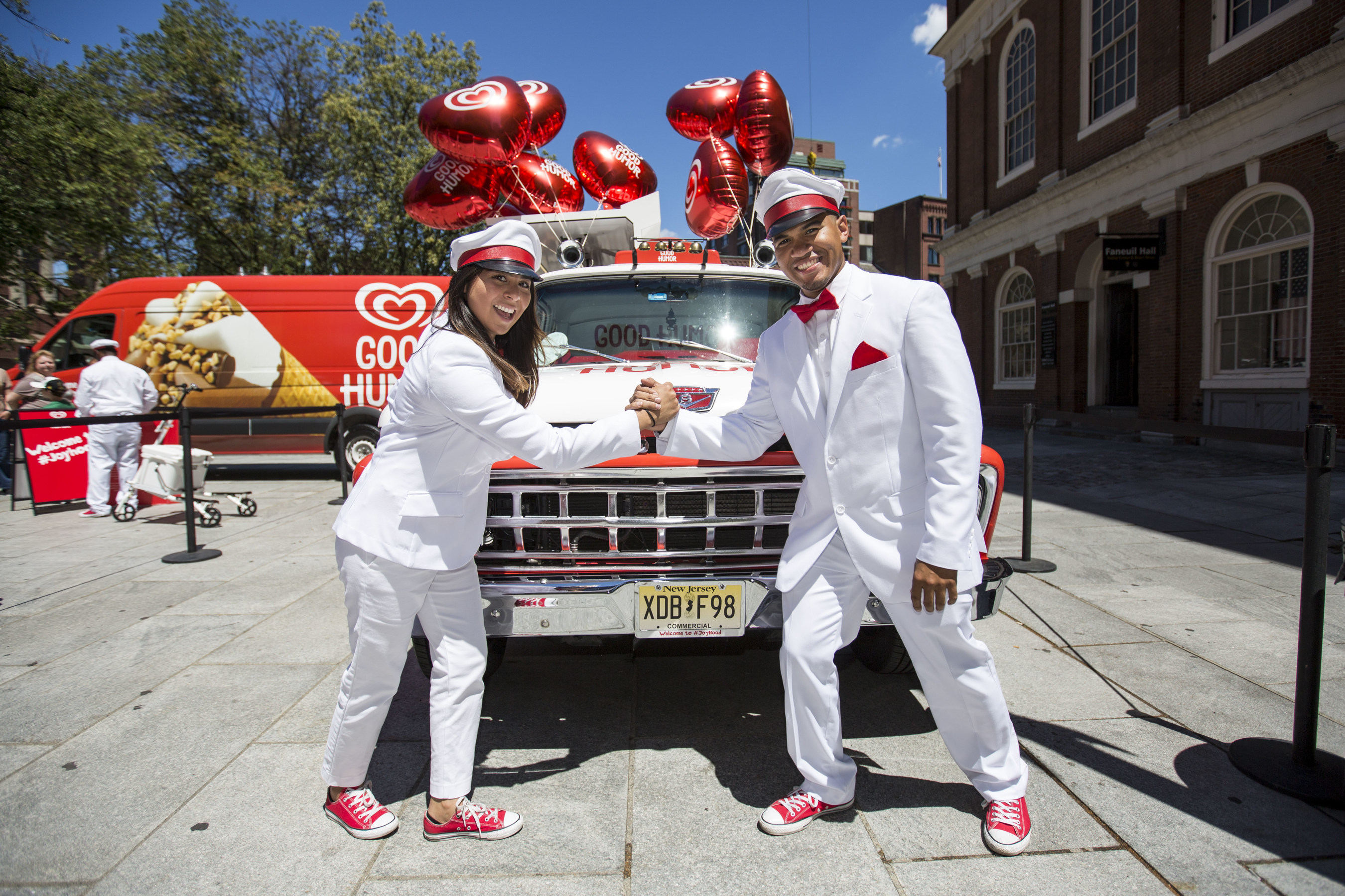 The Good Humor(R) Joy Squad and the Good Humor(R) Truck will surprise and delight Washington, D.C. from July 26 through August 16. Fans can follow Good Humor(R) all summer long on Foursquare for real-time updates on the Good Humor(R) Truck's location, or by tweeting at @GoodHumor to find out when The Good Humor(R) Truck will be visiting your neighborhood.