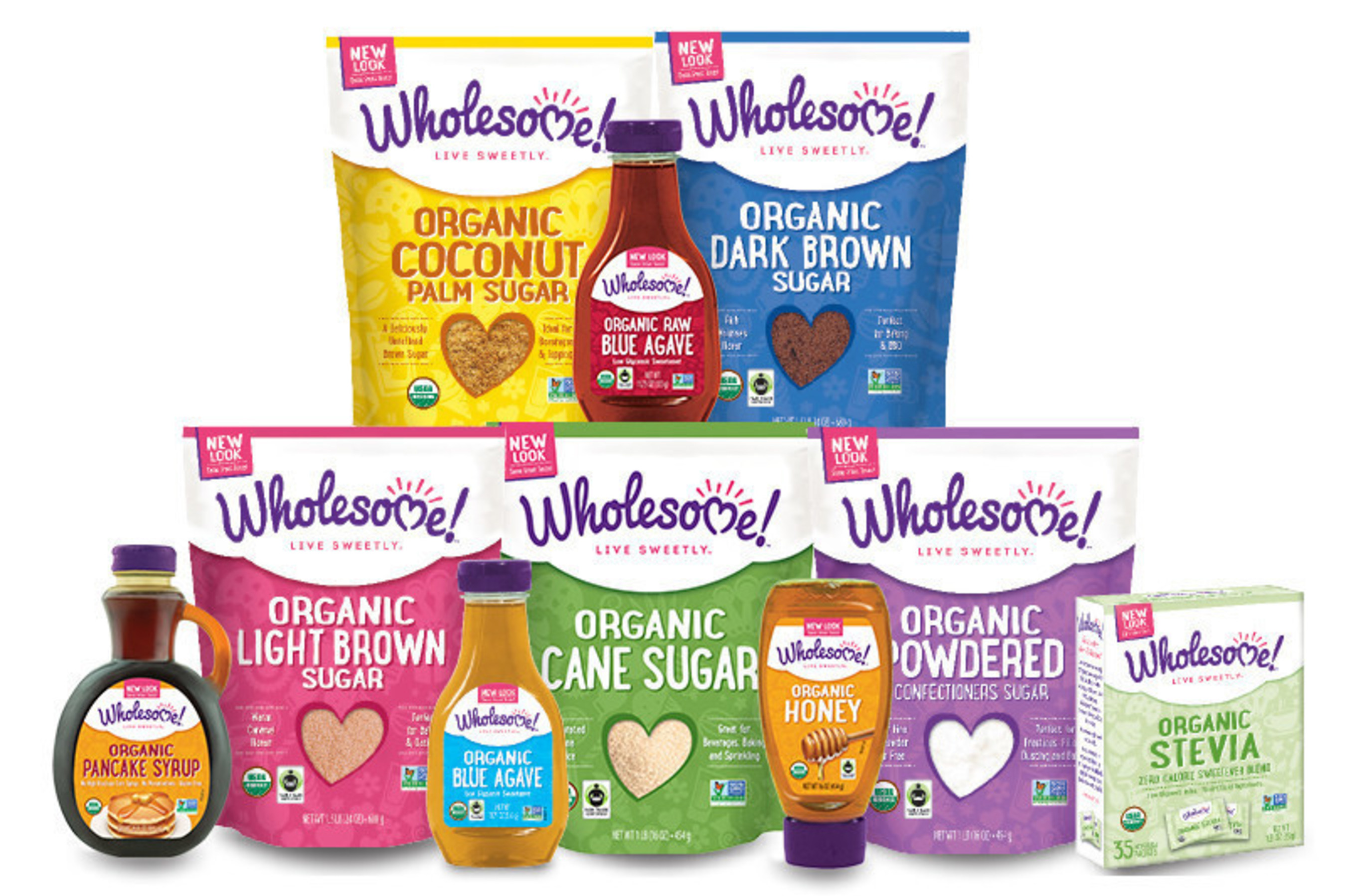 In honor of Earth Day, Wholesome!(TM) celebrates 14 years of sustainable, eco-friendly agriculture throughout its organic sweetener business. Today, the company has more than 50 products all sourced from sustainable farms around the world and stands as the leading U.S. brand of Organic, Fair Trade and Non-GMO sugars, syrups, stevia, honey and molasses.