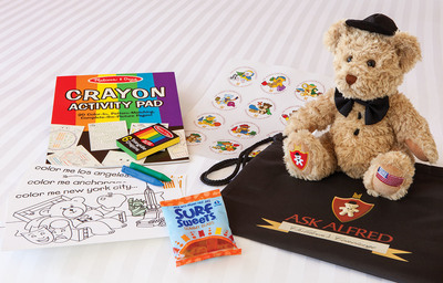 Millennium Hotels and Resorts North America Expands Ask Alfred Children's Program This Summer... kids eat free & have a chance to win return hotel stay (airfare included!)