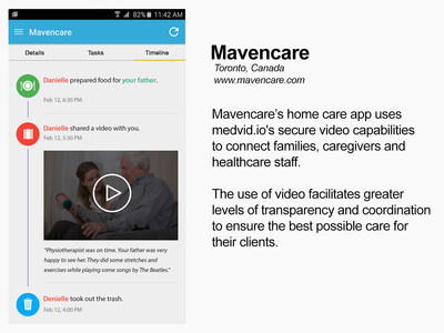 medvid.io enables Mavencare users to share video safely