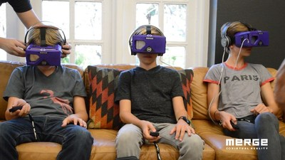 Merge VR Goggles tested and approved for kids ages 10 and up