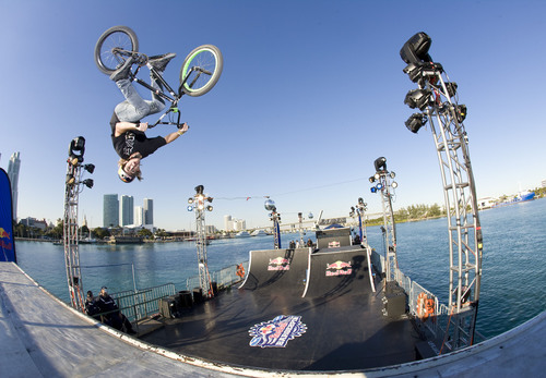 Red Bull Bargespin Brought the Heat to Miami