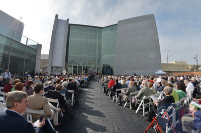 More than 1,500 celebrities, politicians, dignitaries, WWII veterans and honored guests gather in New Orleans, LA at The National WWII Museum for the opening of the US Freedom Pavilion: The Boeing Center