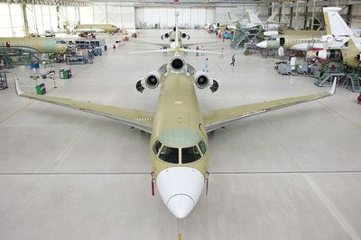 200th Falcon 7X enters completion