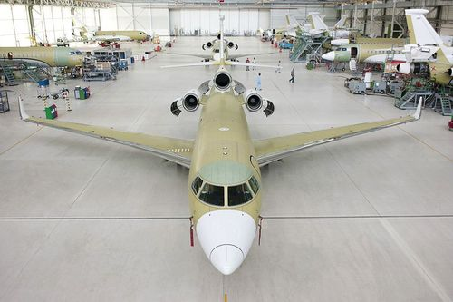 200th Falcon 7X Enters Completion Featuring a Host of New Customer Options