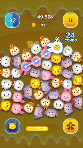 By linking the app with LINE, adult players can compete with their friends in the rankings or send and receive Hearts, which are required to play the game. (PRNewsFoto/LINE Corporation)