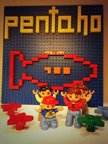 Pentaho is proud to be named a 2013 Top 100 Global Private Company by Red Herring. Lego design by @kathrineiben.  (PRNewsFoto/Pentaho Corporation)