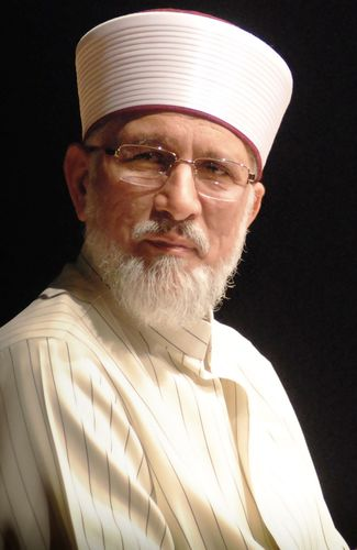 Shaykh-ul-Islam Dr Muhammad Tahir-ul-Qadri is a leading Muslim scholar, author of Fatwa on Terrorism & Suicide Bombings and Islamic Curriculum on Peace and Counter Terrorism and founder of Minhaj-ul-Quran International. He is also Chairman of Pakistan Awami Tehreek (PAT), leading opposition political party, aiming to crack down corruption, lawlessness and terrorism in Pakistan by bringing about positive and democratic change in society. He led 2013/2014 anti-government protests in Islamabad. (PRNewsFoto/Minhaj-ul-Quran International)