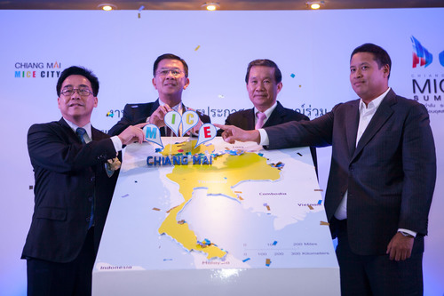 TCEB Joins Public-private Sectors in a Commitment to Completing 'Chiang Mai MICE Development Master