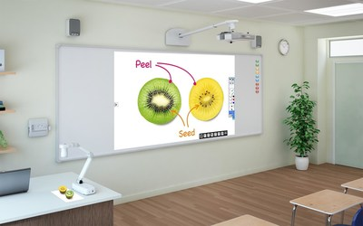 The BrightLink 536Wi interactive projector brings reliable performance and convenient collaboration to BYOD classrooms.